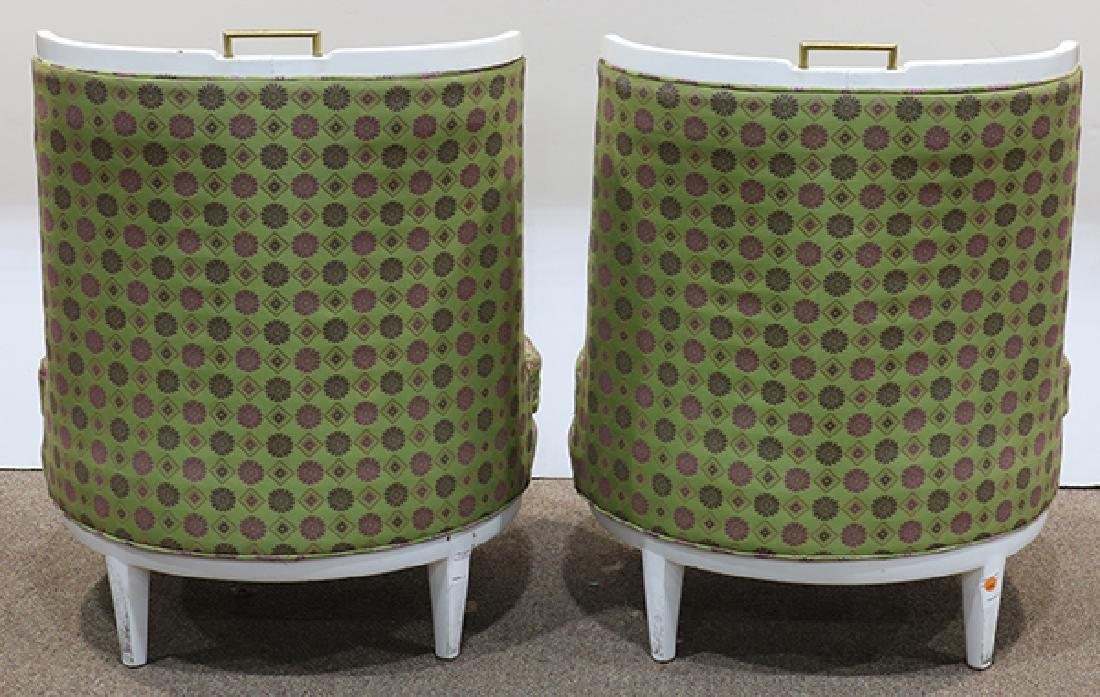 Pair of Mid Century Barney's club chairs - 3