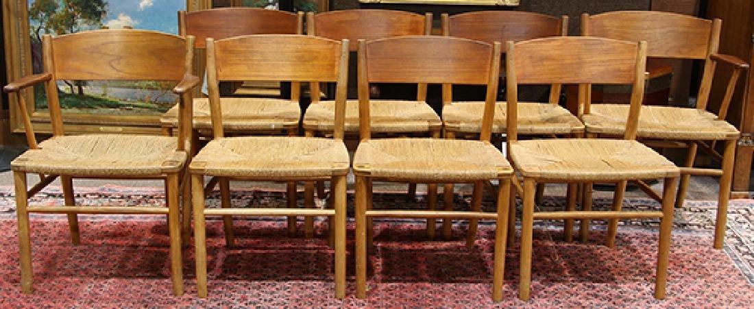 (lot of 9) Danish Mid-Century Modern Borge Mogensen - 5