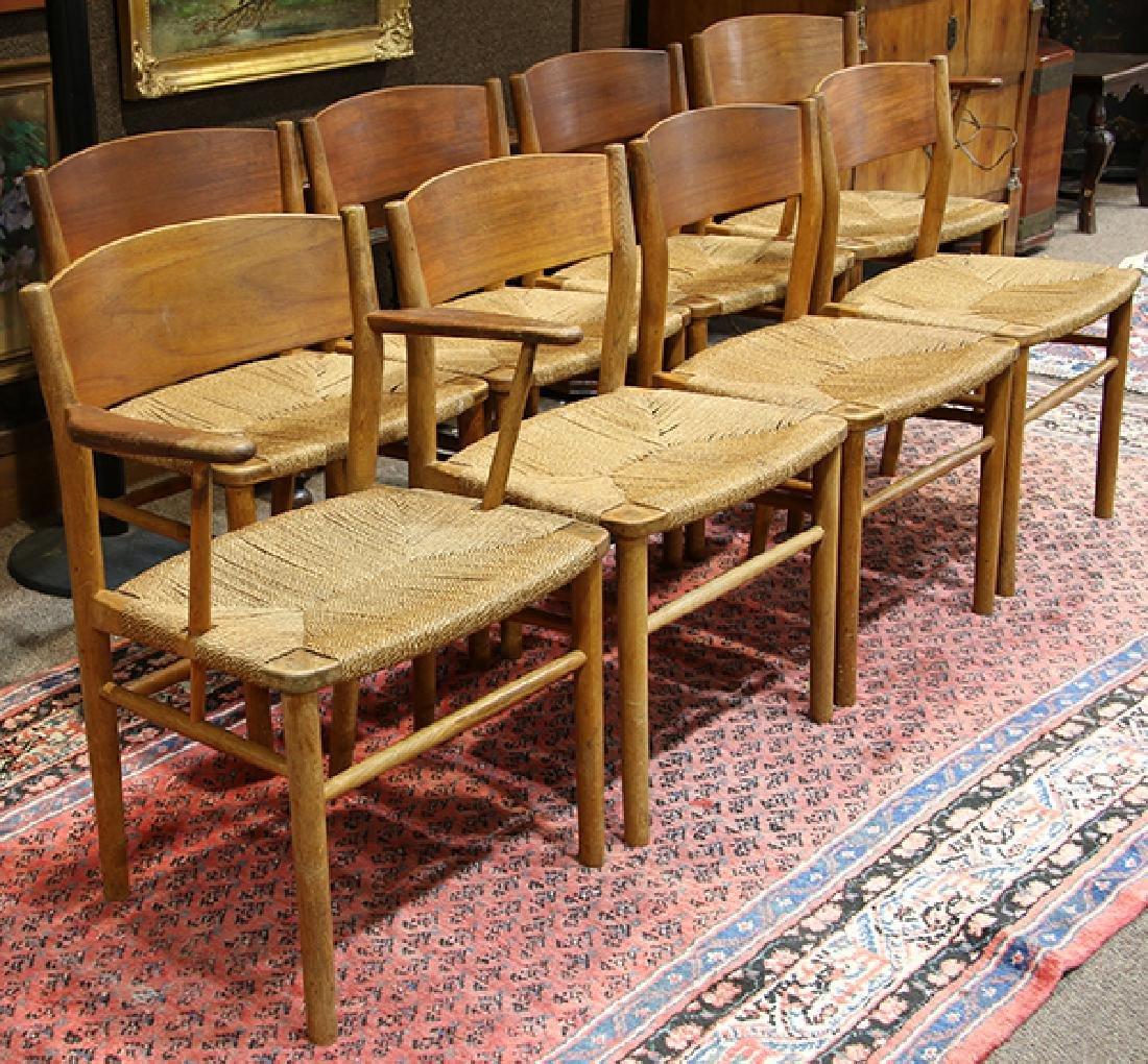 (lot of 9) Danish Mid-Century Modern Borge Mogensen - 6