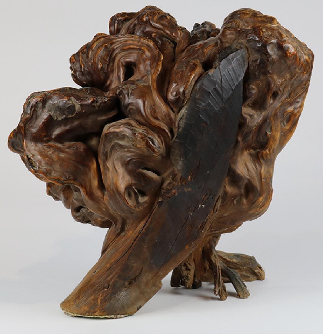 Asian style sculptural driftwood centerpeice - 3