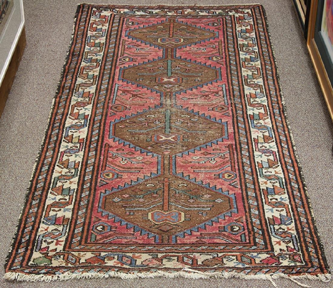 Antique Persian Hamadan carpet