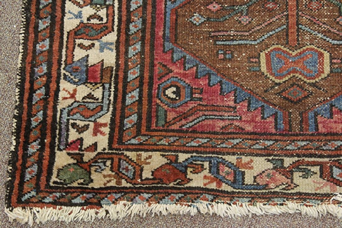 Antique Persian Hamadan carpet - 2