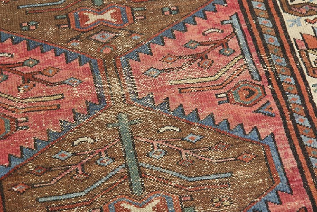 Antique Persian Hamadan carpet - 3