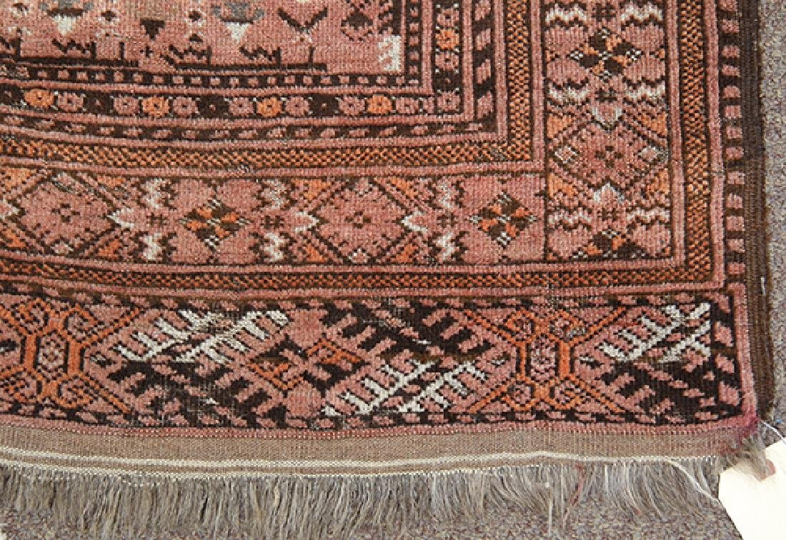 "Afghan Belouch prayer rug, 4'8"" x 2'10"" - 2"