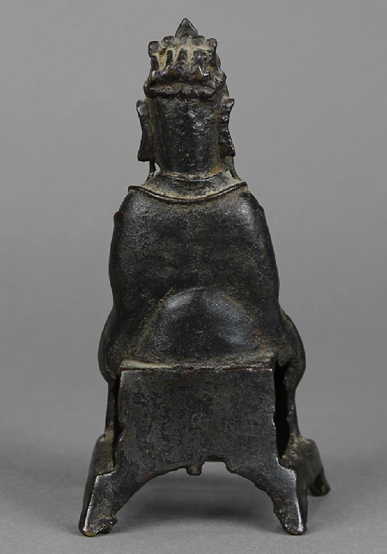 Chinese Bronze Daoist Deity - 3