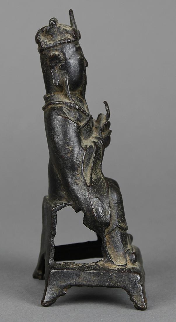 Chinese Bronze Daoist Deity - 4