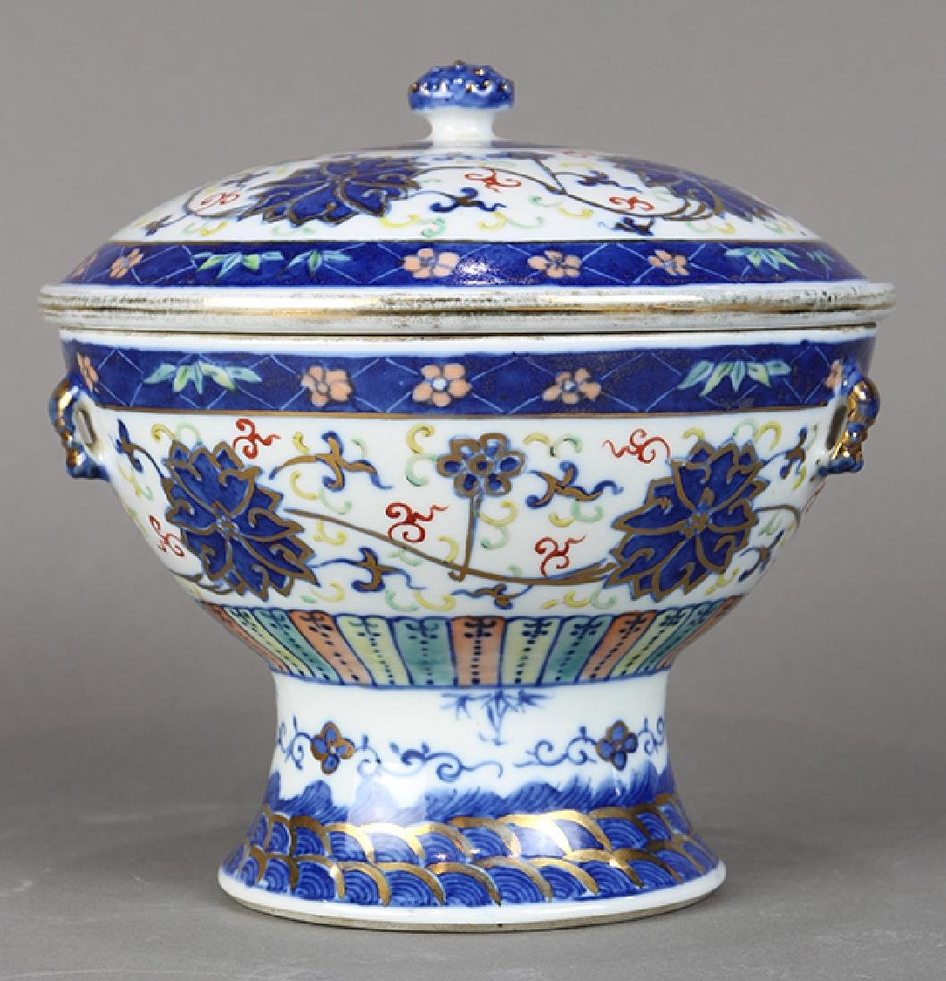 Chinese Porcelain Warmer