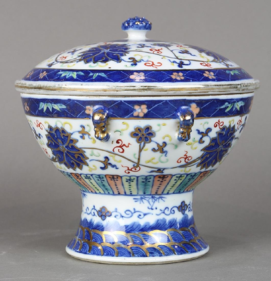 Chinese Porcelain Warmer - 2