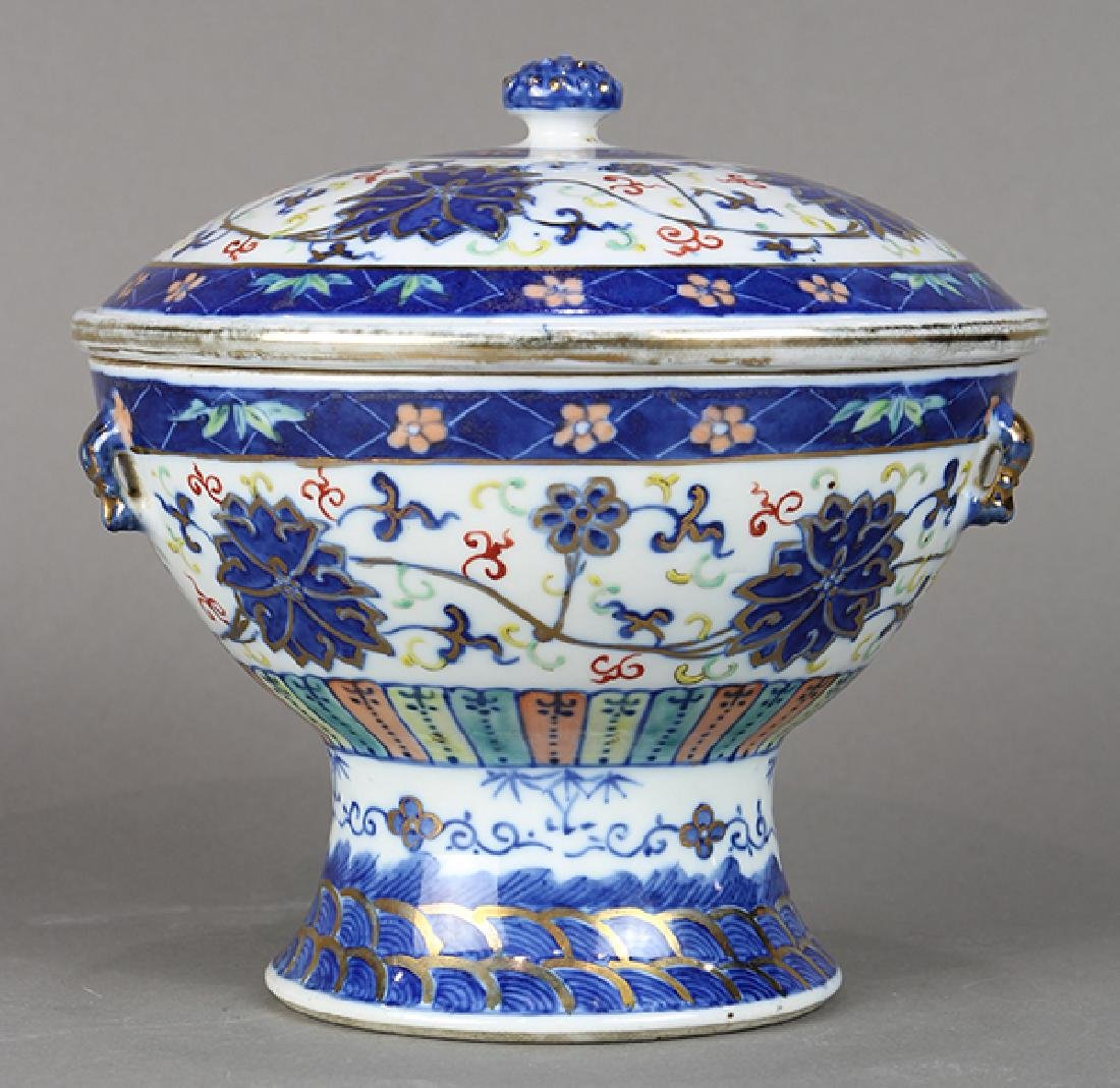 Chinese Porcelain Warmer - 3