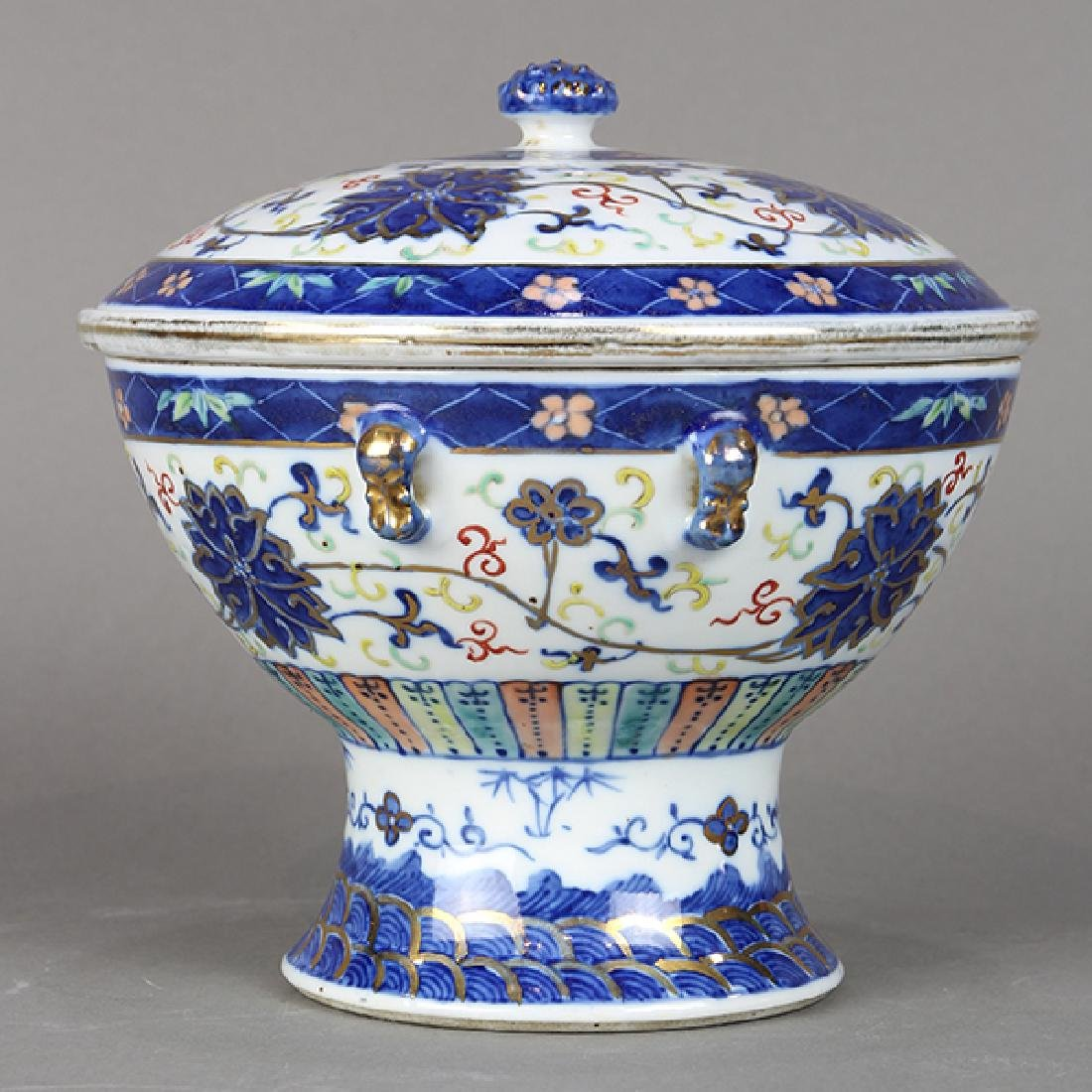 Chinese Porcelain Warmer - 4