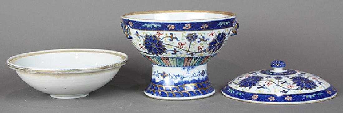 Chinese Porcelain Warmer - 5