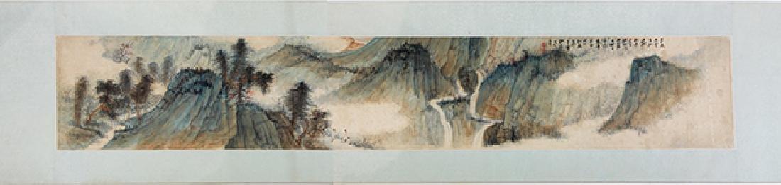 Chinese Handscroll, attr to Zhang Daqian, Landscape