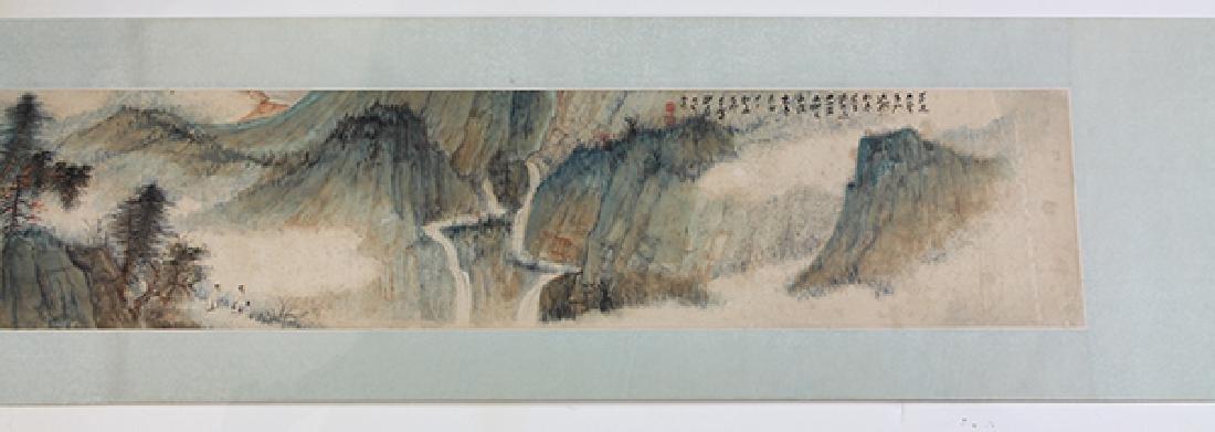 Chinese Handscroll, attr to Zhang Daqian, Landscape - 3