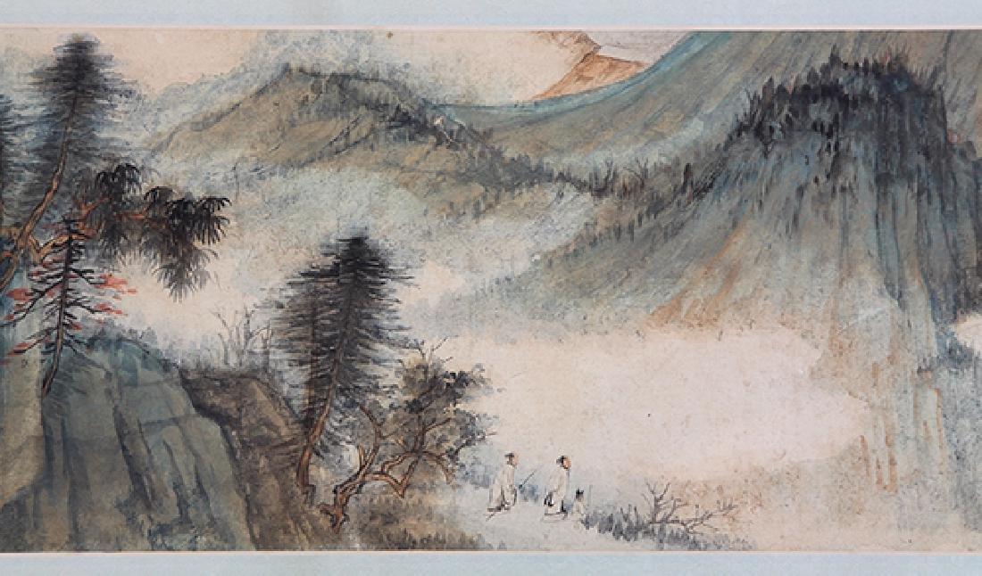 Chinese Handscroll, attr to Zhang Daqian, Landscape - 4