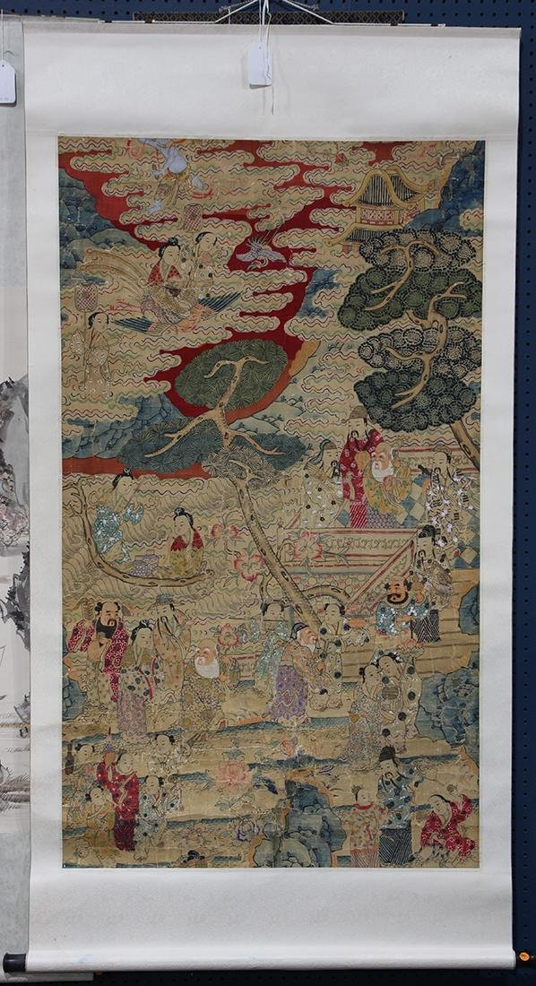 Chinese Textile, Daoist Immortals