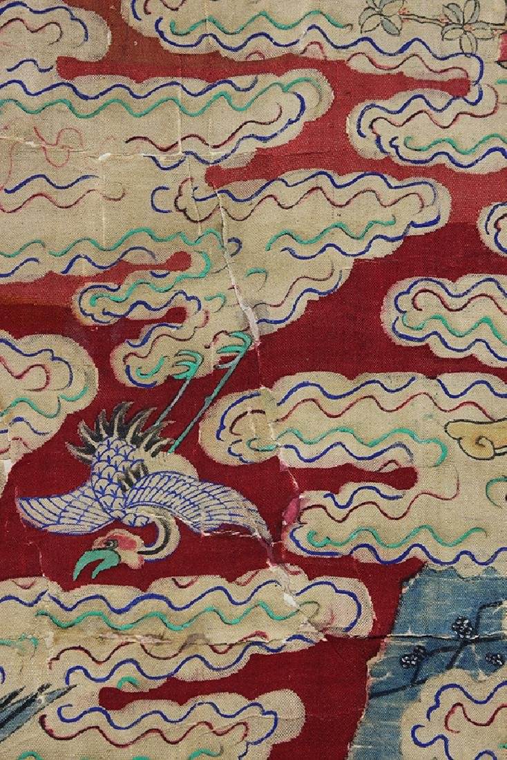 Chinese Textile, Daoist Immortals - 3