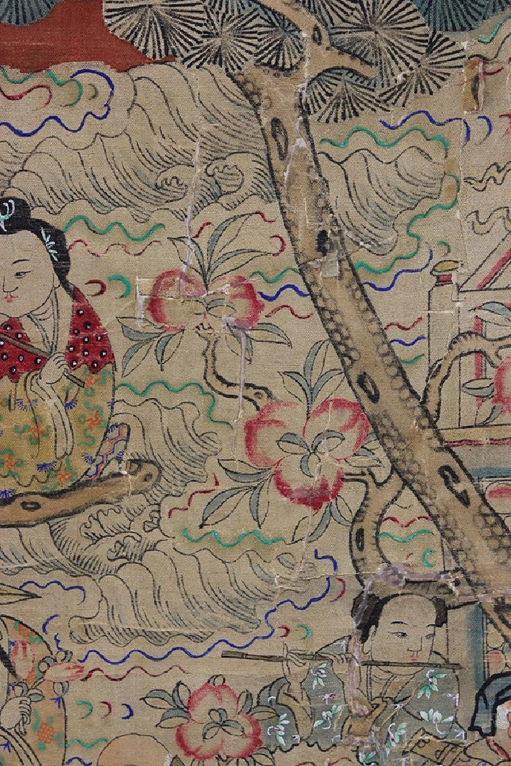 Chinese Textile, Daoist Immortals - 6