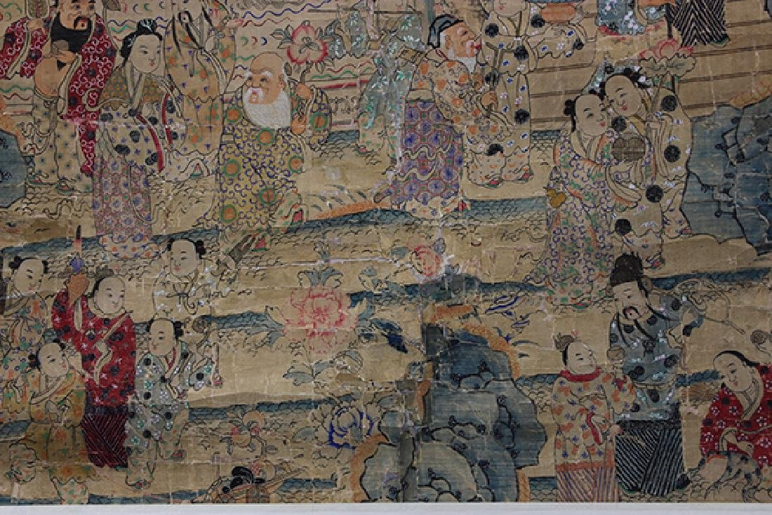 Chinese Textile, Daoist Immortals - 8