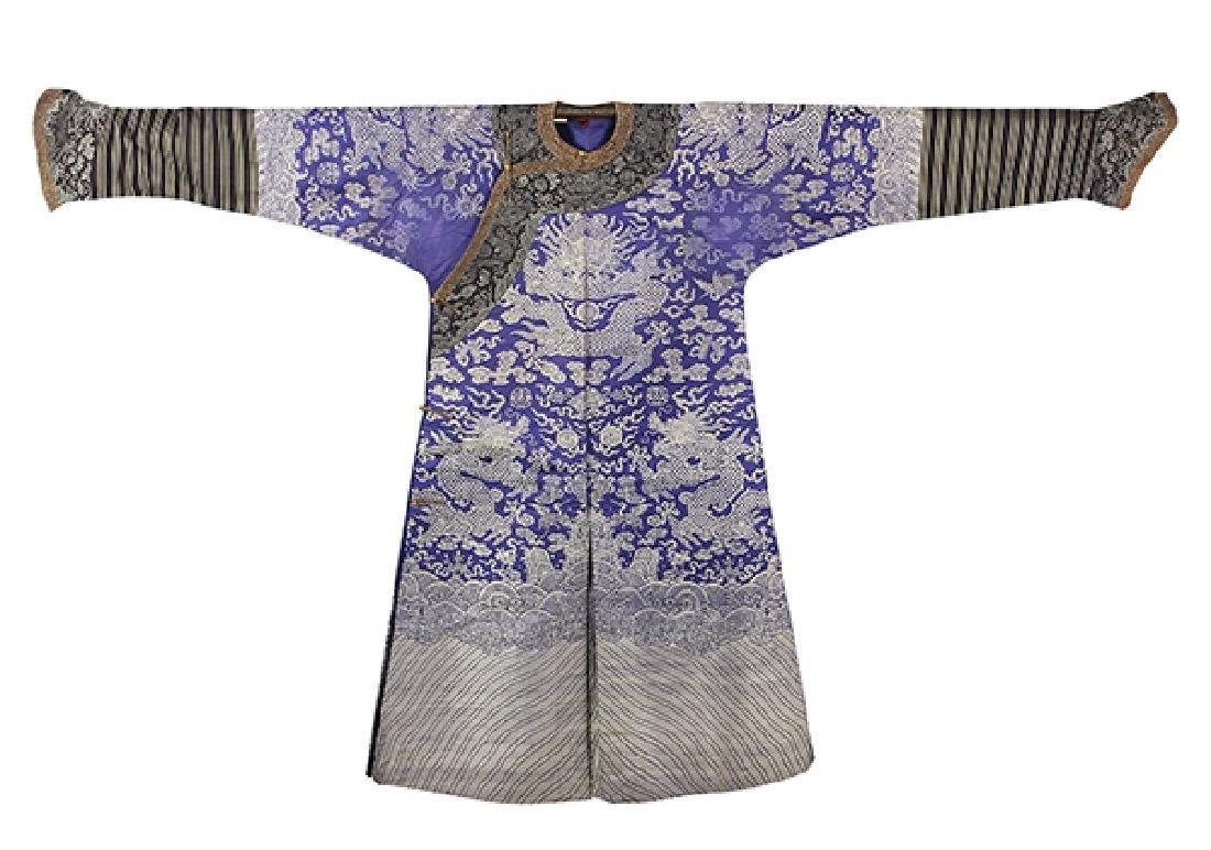 Chinese Blue Dragon Jifu Robe