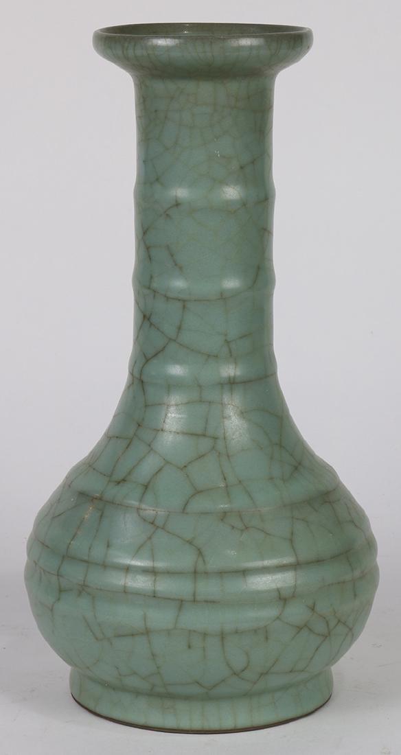Chinese Guan-type Stick Neck Vase