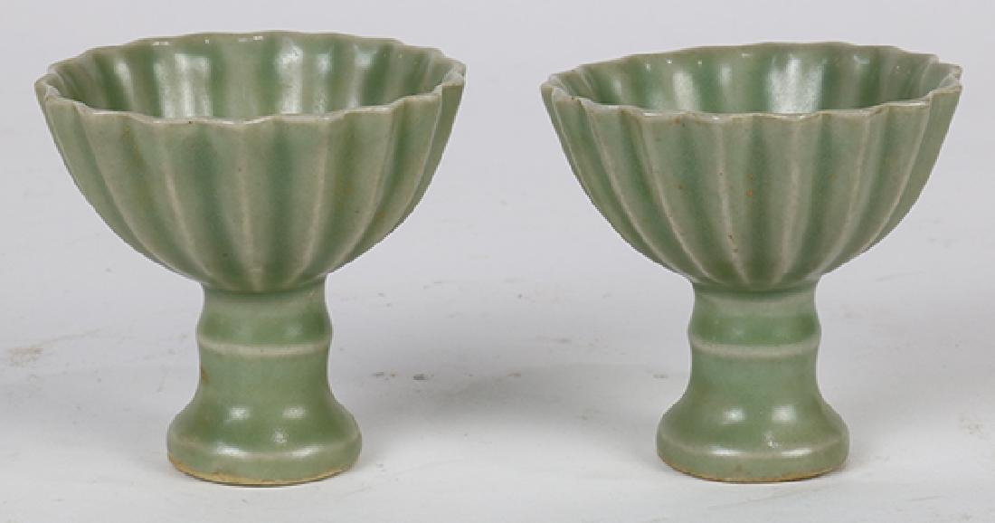 Chinese Longquan Type Stem Cups