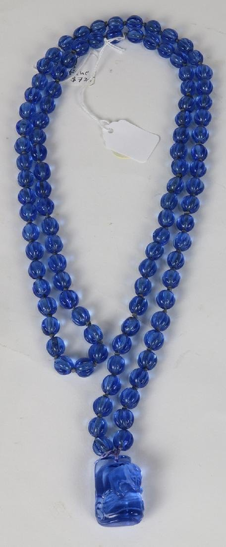 Chines Peking Glass Necklace