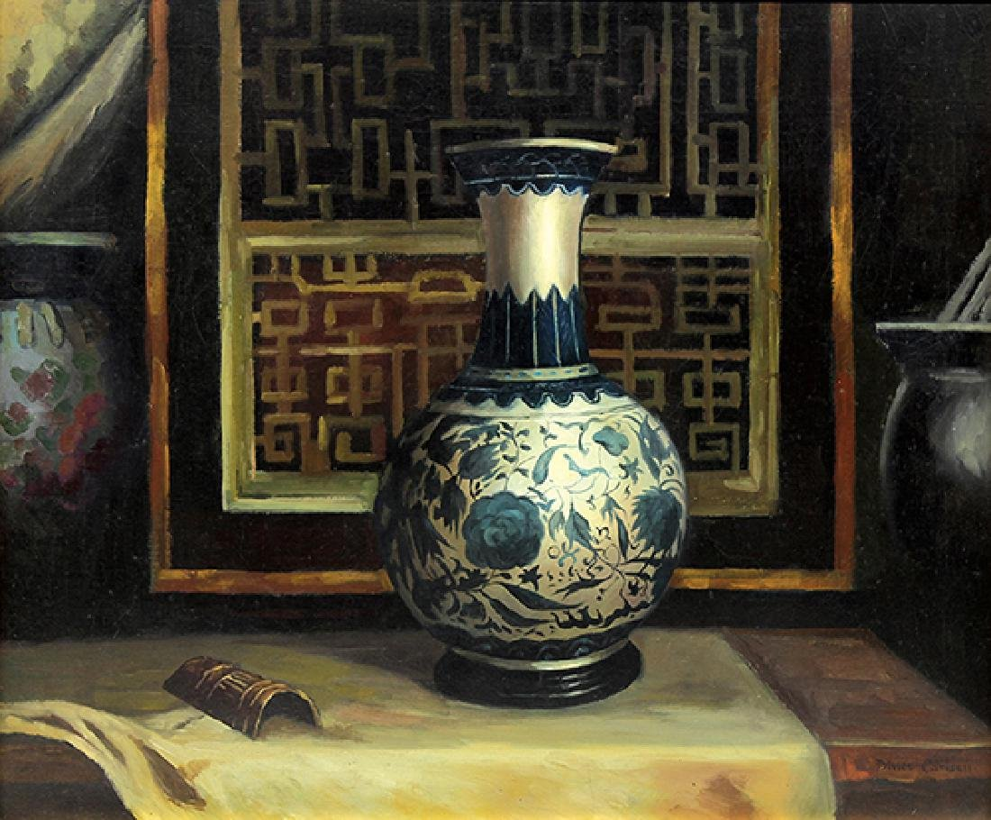 Dines Carlsen (American, 1901-1966), Still Life with
