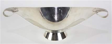 Tiffany  Company sterling silver pedestal center bowl