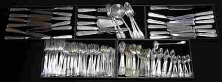 Tiffany  Company sterling silver partial flatware