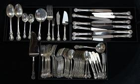"""Towle sterling silver """"Old Master"""" pattern partial"""