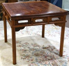 Chinese Wooden Square Table