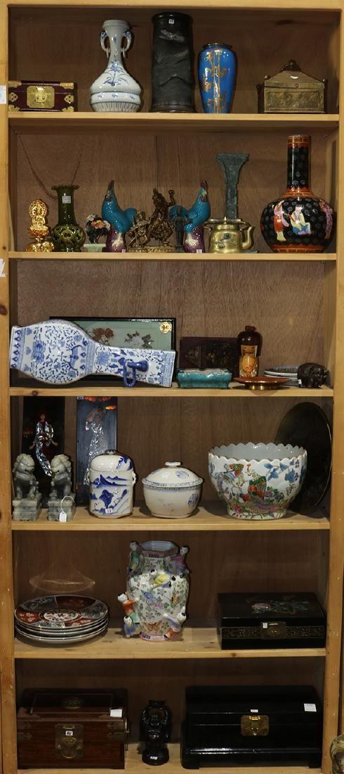 Six Shelves of Asian Items