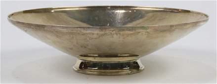 Tiffany  Company sterling silver pedestal dish set