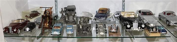 (Lot of 18) Mercedes Benz die-cast models, including