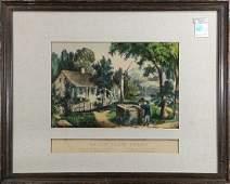 Prints, Currier & Ives