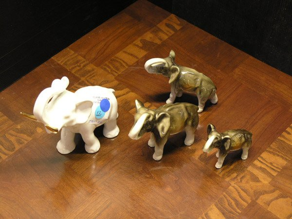 12: Ceramic Elephants