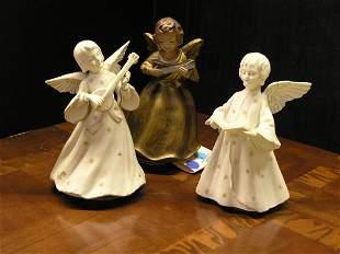 Ceramic Angel Music Boxes