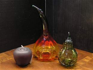 Blenko Art Glass Fruit