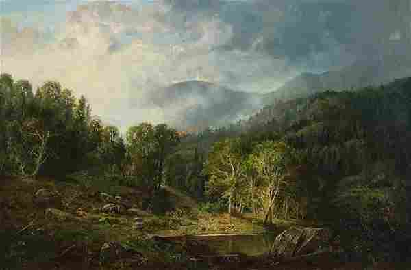Painting, Albert Bierstadt