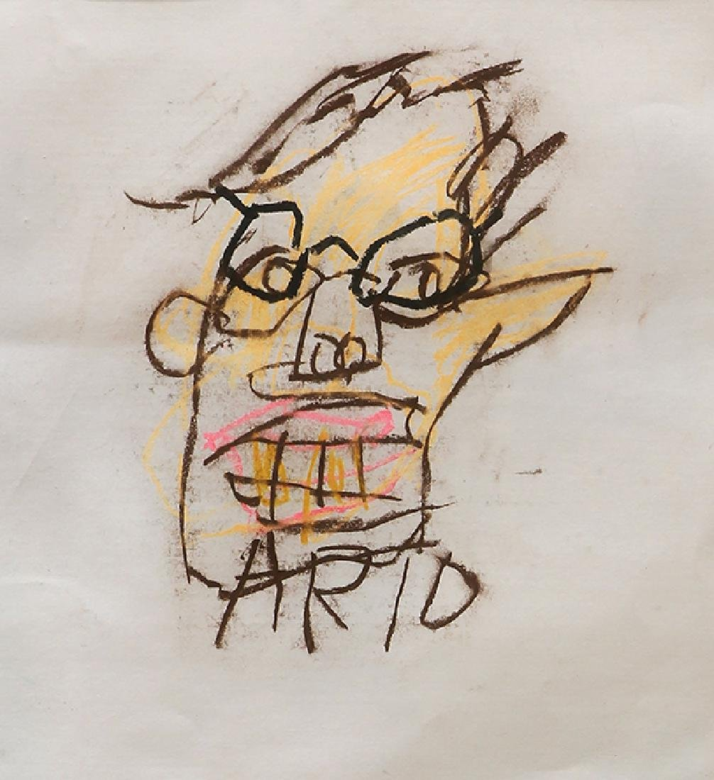Work on Paper, Jean-Michel Basquiat, Arthur Morgan