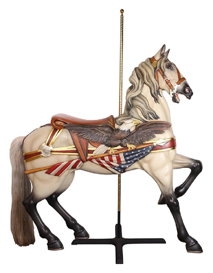 Denzel carving by Muller Carousel Horse circa 1912