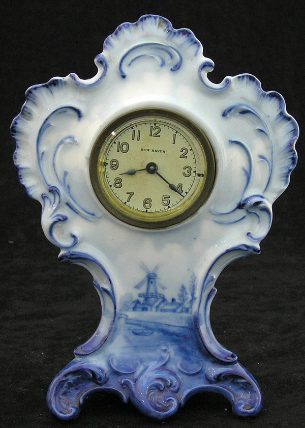 4023: New Haven delft clock