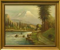 4575 Painting William Lemos Californian