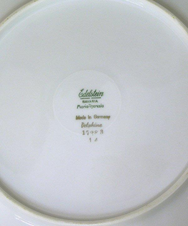 6103: Bavarian Porcelain Edelstein Delphine - 5