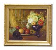 6164 Painting Jane Peterson American floral