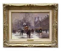 6396 Painting Edouard Leon Cortes French