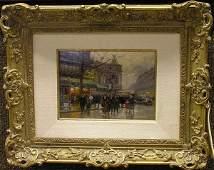 6397 Painting Edouard Cortes French