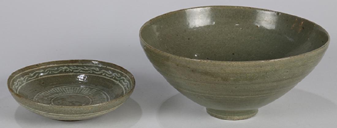 Korean Celadon Glazed Bowl/Dish