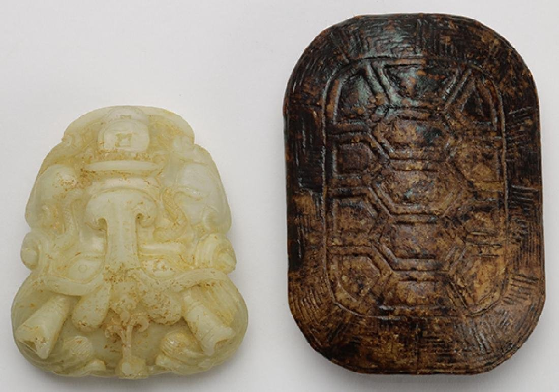 Chinese Hardstone Buckles