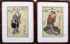 Japanese Woodblock Prints Toyokuni I 19c